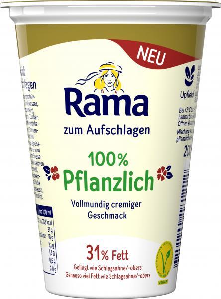 Rama Cremefine zum Aufschlagen 31% Fett 100% pflanzlich