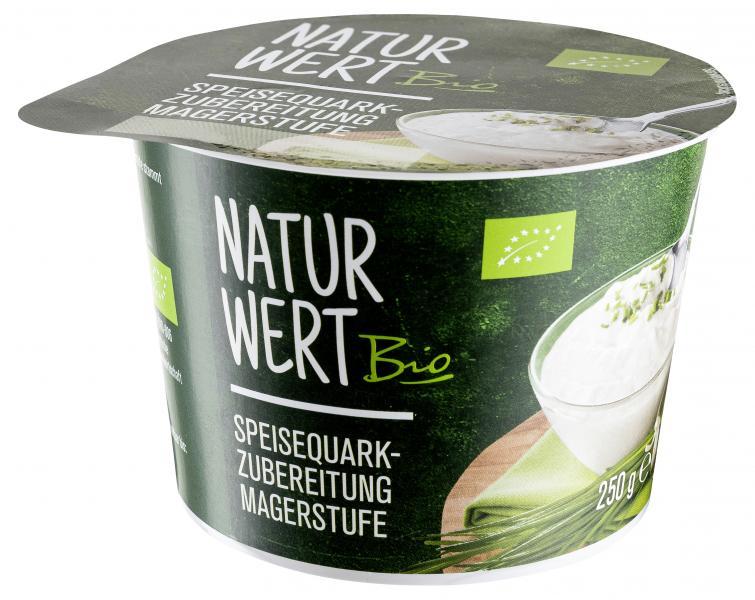 NaturWert Bio Speisequarkzubereitung Magerstufe