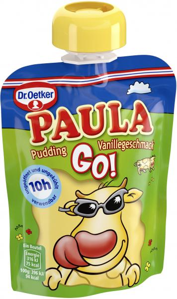 Dr. Oetker Paula GO! Pudding Vanillegeschmack