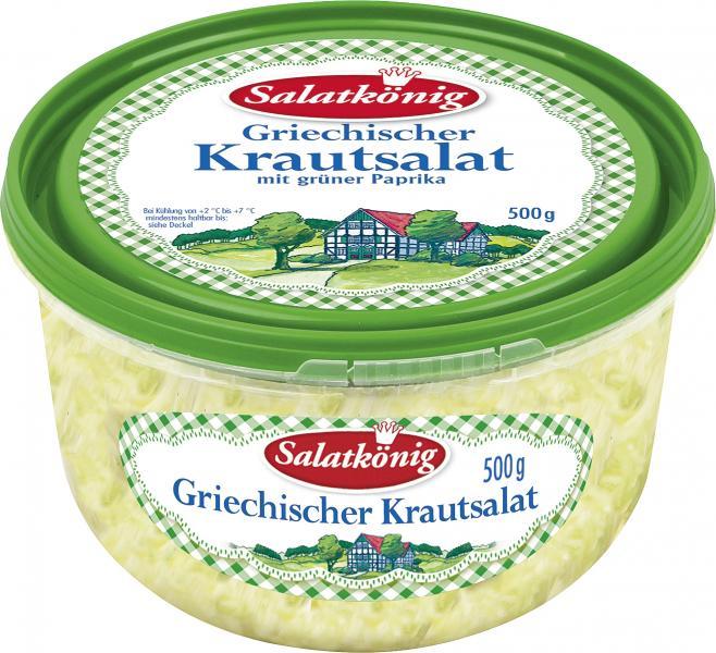 Salatkönig Griechischer Krautsalat