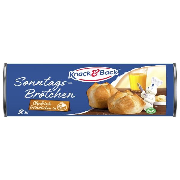 Knack & Back Sonntagsbrötchen