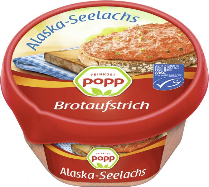 Popp Brotaufstrich Alaska-Seelachs