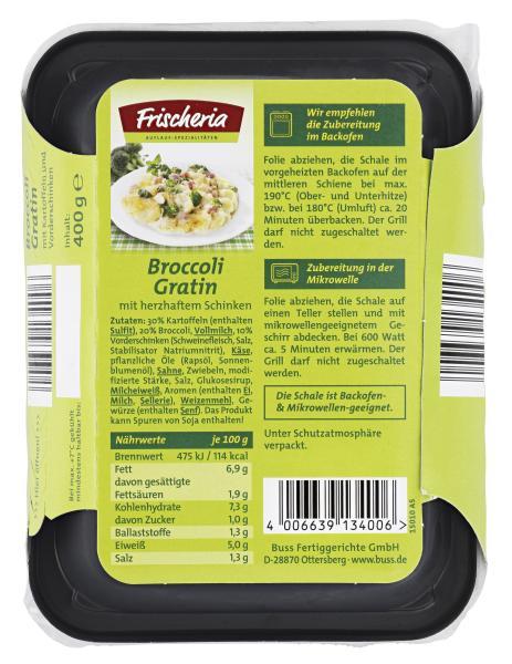 Frischeria Broccoli-Gratin mit Schinken