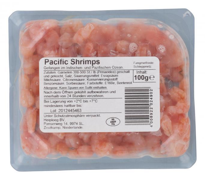 Büsumer Pacific Shrimps Natur