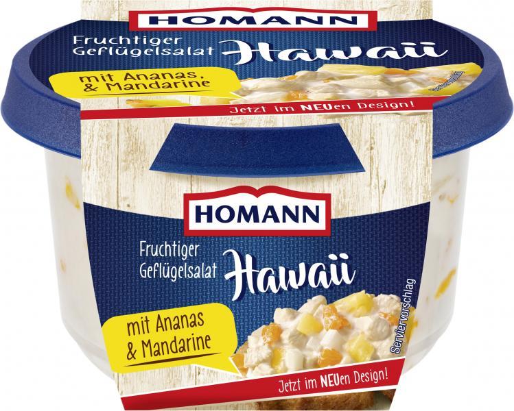 Homann Geflügelsalat Hawaii
