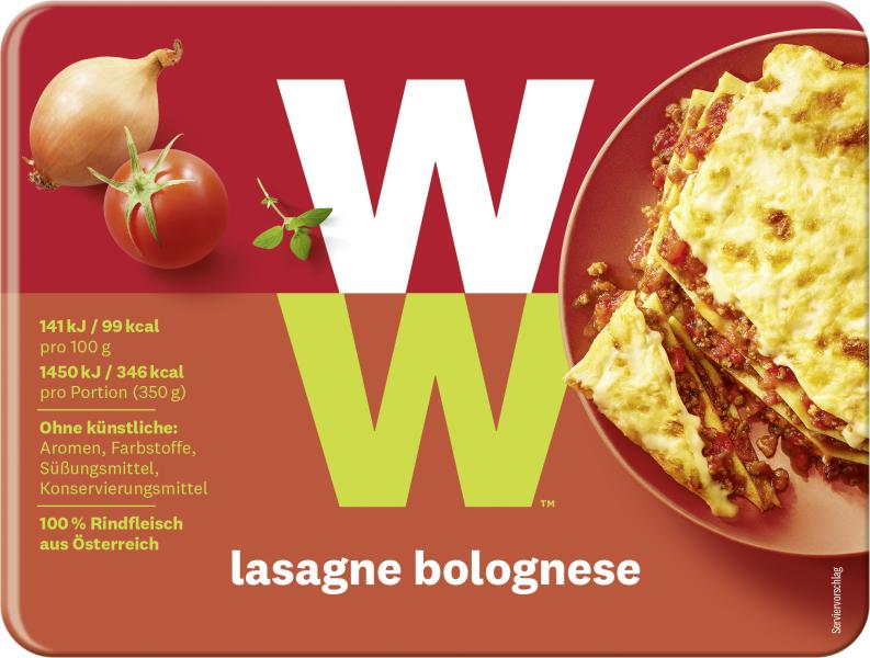 WW - Wellness that Works Lasagne Bolognese