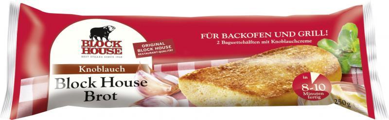 Block House Knoblauch Brot