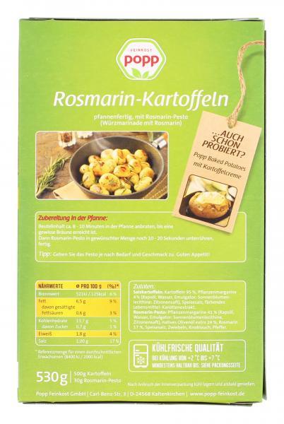 Popp Rosmarin-Kartoffeln mit Rosmarin-Pesto