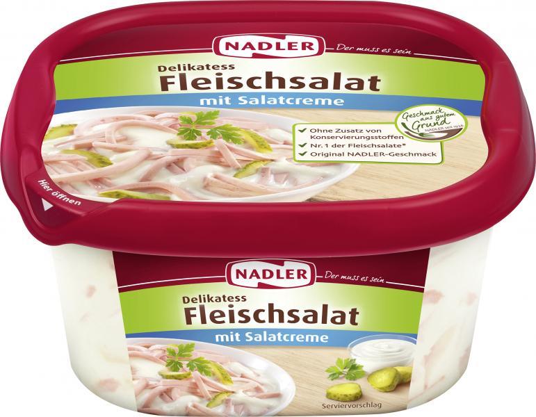 Nadler Delikatess Fleischsalat mit Salatcreme