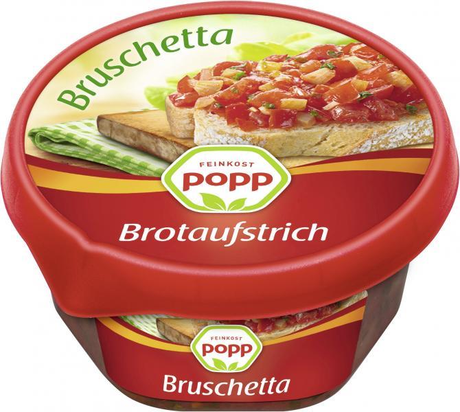 Popp Brotaufstrich Bruschetta