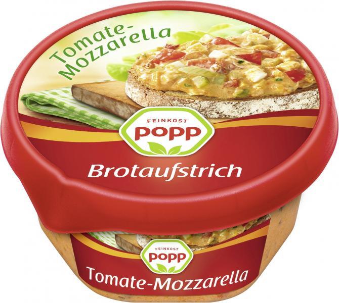 Popp Brotaufstrich Tomate-Mozzarella