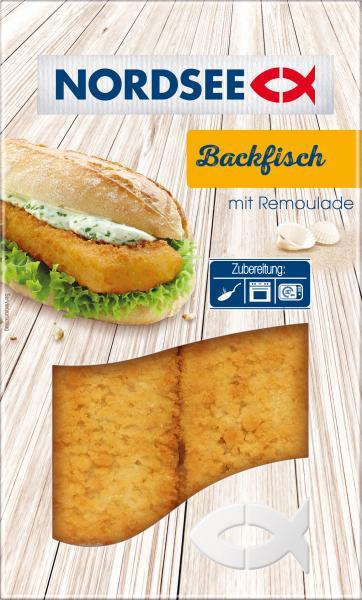 Nordsee Backfisch mit Remoulade