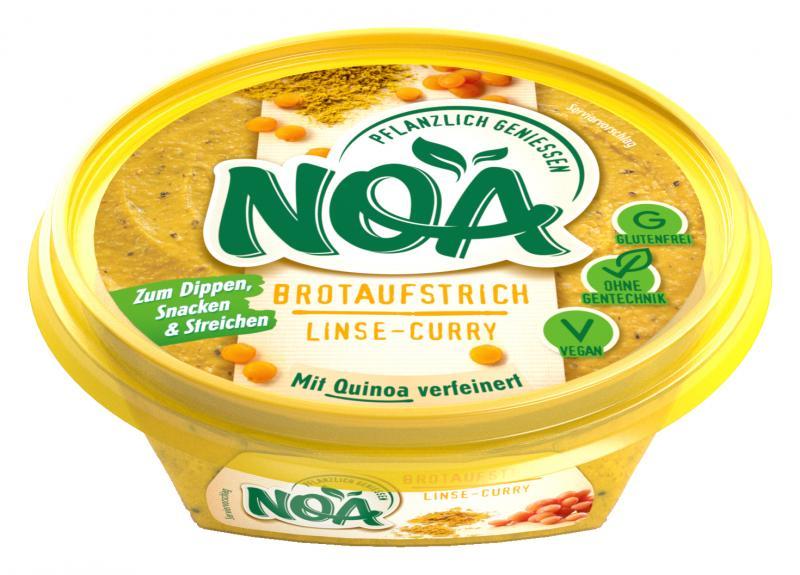 NOA Brotaufstrich Linse-Curry