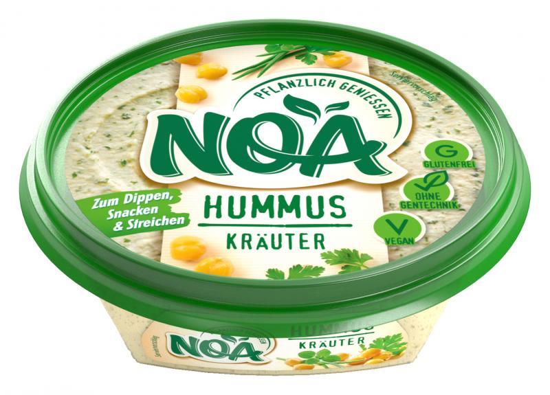 NOA Brotaufstrich Hummus Kräuter