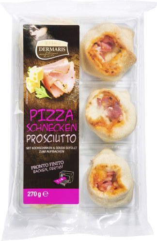 Dermaris Pizzaschnecken Prosciutto