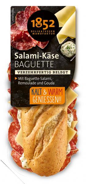 1852 Delikatessen Manufaktur Salami-Käse Baguette
