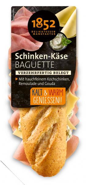 1852 Delikatessen Manufaktur Schinken-Käse Baguette