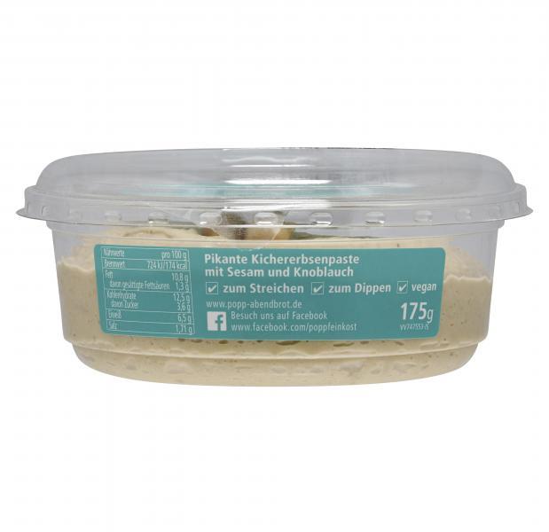 Popp Feinkost Hummus natur