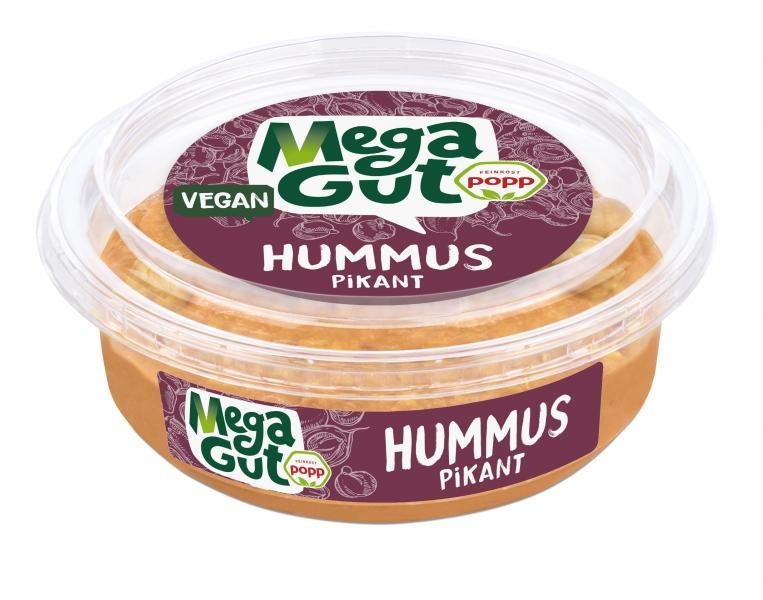 Popp Feinkost Hummus pikant