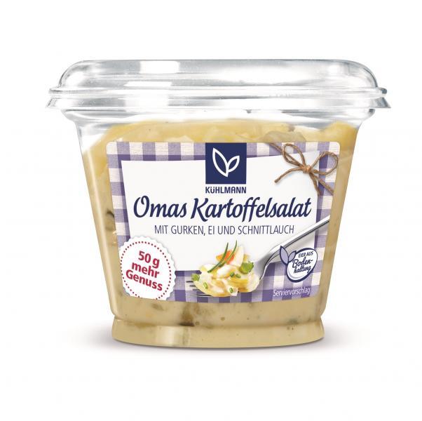Kühlmann Omas Kartoffelsalat mit Gurken, Ei und Schnittlauch