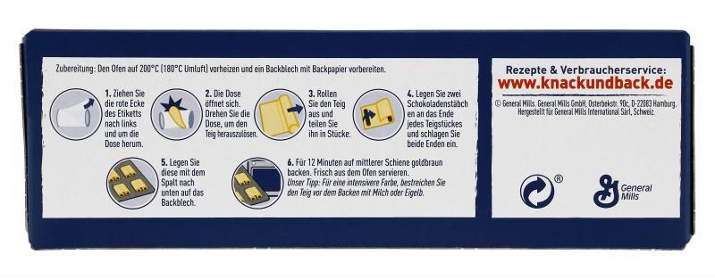 Knack & Back 6 Schoko-Brötchen