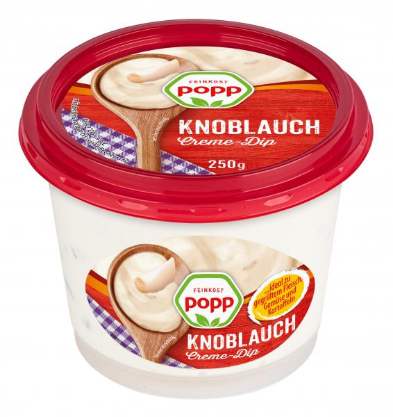 Popp Knoblauch Creme