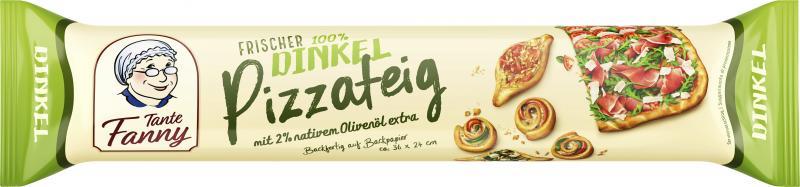 Tante Fanny Frischer Dinkel Pizzateig