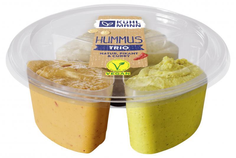 Kühlmann Hummus trio