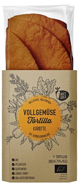 Beetgold Bio Vollgemüse Tortilla Karotte