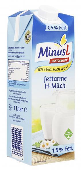 Minus L H-Milch 1,5%