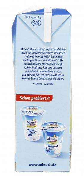 Minus L H-Milch 1,5% Fett