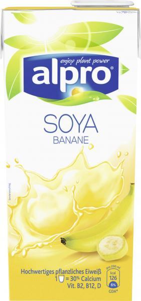 Alpro Soya Drink Banana