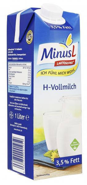 Minus L H-Vollmilch 3,8%