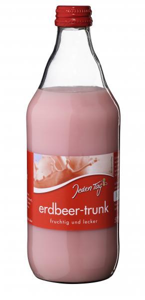 Jeden Tag Erdbeer-Trunk