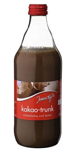 Jeden Tag Kakao-Trunk
