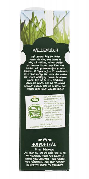 Arla Bio Haltbare Weidemilch 3,8% Fett