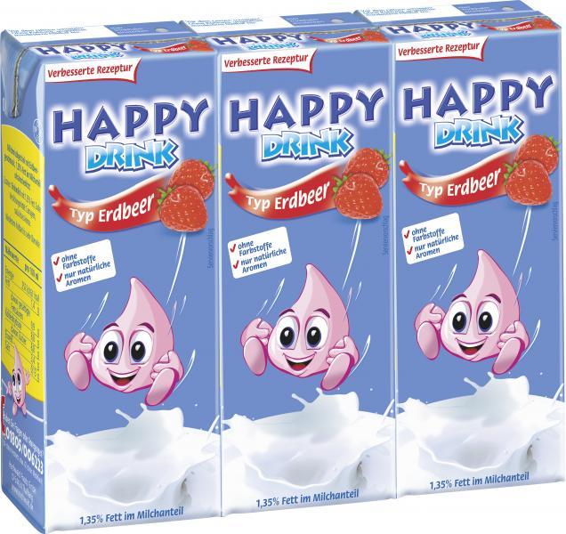 Happy Drink Typ Erdbeer
