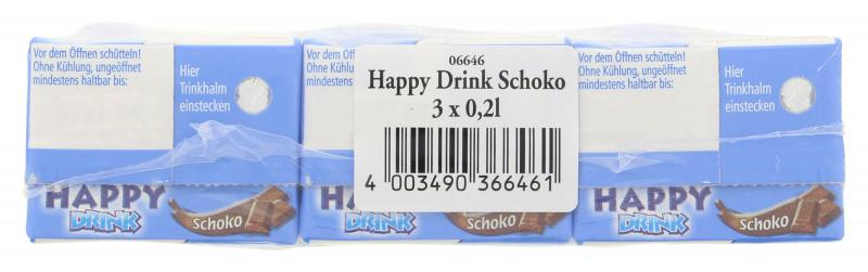Happy Drink Schoko