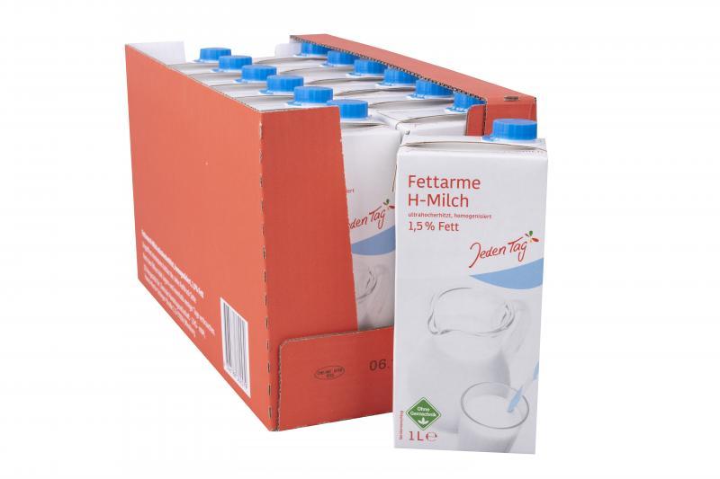 Jeden Tag fettarme H-Milch 1,5%