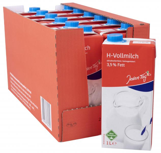 Jeden Tag H-Milch 3,5%