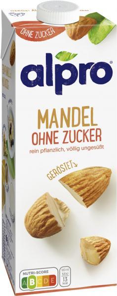 Alpro Mandeldrink Ohne Zucker Geröstet UHT vegan