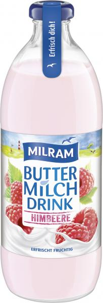 Milram Buttermilch Drink Himbeere