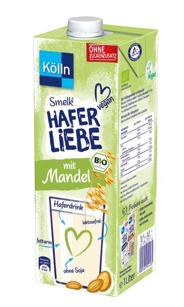 Kölln Smelk Haferliebe mit Mandel