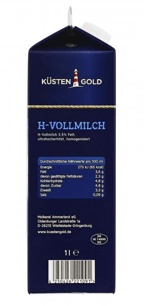 Küstengold H-Vollmilch 3,5%