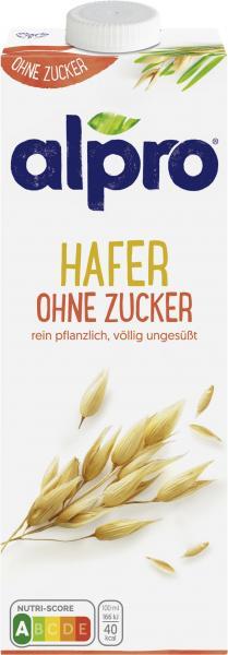 Alpro Haferdrink Ohne Zucker UHT vegan