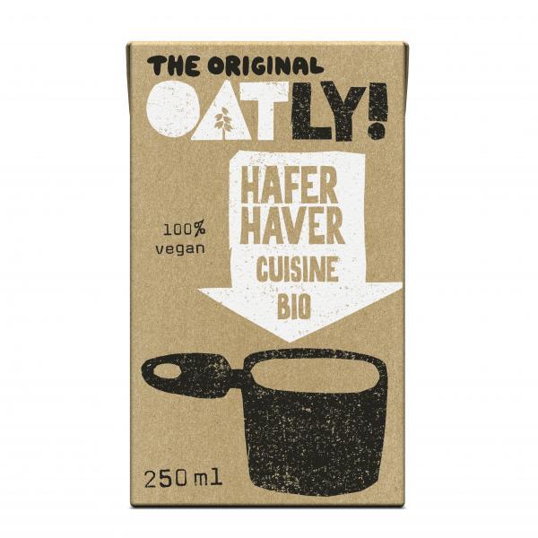 Oatly Hafer Cuisine Bio