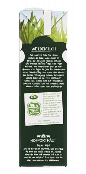 Arla Bio haltbare Weidemilch 1,5% Fett