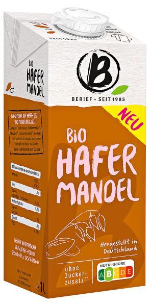 Berief Bio Hafer Mandel Drink