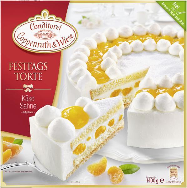 Coppenrath & Wiese Festtagstorte Käse Sahne