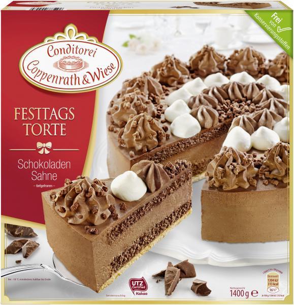 Coppenrath & Wiese Festtagstorte Schokoladen Sahne
